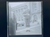 Ross w/Band at S.F. City Hall (Wartime)