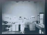 (Dorothea Lange in Studio)