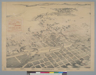 Bird's-eye view of Albuquerque, Bernalillo Co[unty], New Mexico, 1886