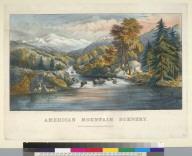 American mountain scenery