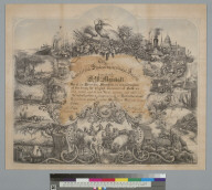 The California State Agricultural Society [certificate]