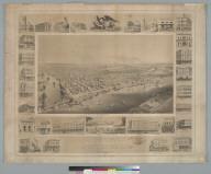 A bird's-eye view of Sacramento [California]: the city of the plain