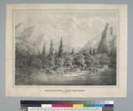 Sentinel Rock and Three Brothers, Merced Riv[er, Yosemite Valley, California]