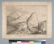 South Dome, Liberty Cap and Nevada Fall, Yosemite [Valley, California]