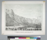 Yosemite Valley, Mariposa Co[unty], Cal[ifornia]