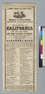 Beale & Craven's magnificent twelve-mile mirror of the voyage from Philadelphia [Pennsylvania] to California