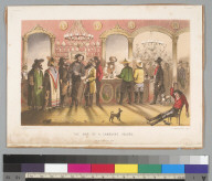 The bar of a gambling saloon