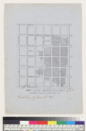 Map of the burnt district of S[an] F[rancisco, California]