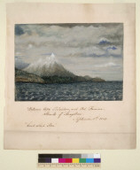 [Cape Isidoro and Point Famine in Straits of Magellan, South America]