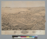 Bird's-eye view of Chico, Butte County, Cal[ifornia], 1871