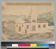 Church and convent de la Merced, Valparaiso 1849 [Chile]