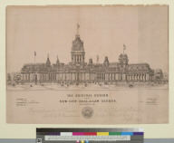 The original design for the new City Hall and Law Courts, San Francisco, Cal[ifornia]