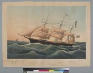 """Clipper ship """"Dreadnought"""""""