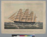 "Clipper ship ""Great Republic"""