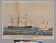 "Clipper ship ""Ocean Express"""