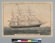 "Clipper ship ""Queen of Clippers"""