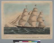"""Clipper ship """"Young America """""""