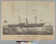 Steam ship Cortes, 1800 tons, of the New York & California Steam Ship Company