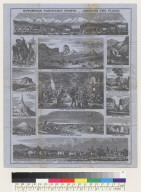 Hutchings' panoramic scenes, crossing the plains