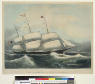 "The clipper ship ""Dauntless"", Boston"