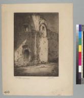 The ruined altar, San Juan Capistrano Mission [California]
