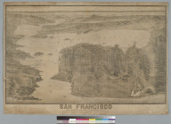 San Francisco and surroundings, looking east: showing the bay and great interior valleys of California