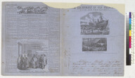 The Pictorial Newsletter of California for the steamer Sonora, May 5, 1858: The excitement in San Francisco, rush for the mines