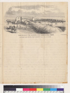 Fair ground of the California State Agricultural Society, Louisiana Race Course, near Sacramento [California], Sept[ember] 26th and 27th, 1855