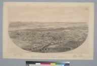 Bird's-eye view of Santa Clara, Cal[ifornia]
