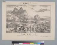 The gold district, California: mining operations on the western shore of the Sacramento River