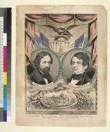 Grand National Republican Banner [for President and Vice President with John C. Fremont and William L. Dayton]