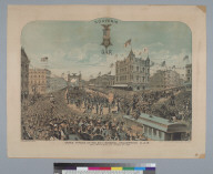 Grand Parade of the 20th National Encampment G.A.R., San Francisco Cal[ifornia], August 3, 1886