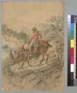 [Miner on horseback]