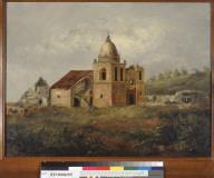 [Mission San Carlos Borromeo at Carmel, California]