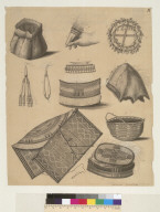 [Household utensils and other objects from Alaska, Unalaska, and Kodiak]