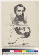 James King of William: the patriot martyr of California/Portrait of Mr. King after death