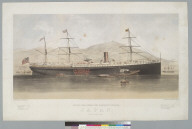 Pacific Mail Steam Ship Company's steamer Japan, built by Henry Steers