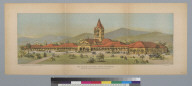 The Leland Stanford Junior University: now in the course of construction at Palo Alto, Cal[iforni]a