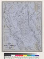 Map of mining region of California, 1855