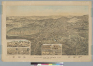 Bird's-eye view of Nevada City, Nevada County, Cal[ifornia]