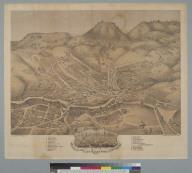 Bird's-eye view of the city of Nevada, Nevada County, Cal[ifornia] 1871