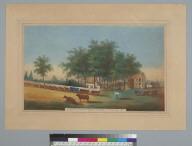 Oak Home Farm, San Joaquin County, California, the residence of W.I. Overhiser Esq., 1861