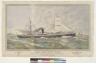 Oceanic Steamship Company's steamers Mariposa and Alameda, San Francisco [California] and Honolulu [Hawaii]