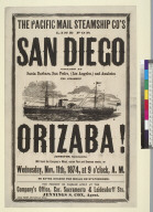 "Steamship ""Orizaba"""