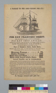 "[Advertisement for packet ship ""Apollo""]"