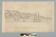 South America, north west side view of Valparaiso taken on the 26th day of May 1852, [Chile]