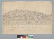 South east side view of Valparaiso taken on the 2nd day of June 1852, [Chile] South America