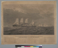 Pacific Mail Steamship Company's steamships: city of Peking and city of Tokio [Tokyo]