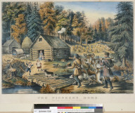The pioneer's home: on the western frontier