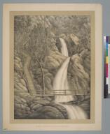 Rubio Canyon Falls, M[oun]t Lowe, Cal[ifornia]